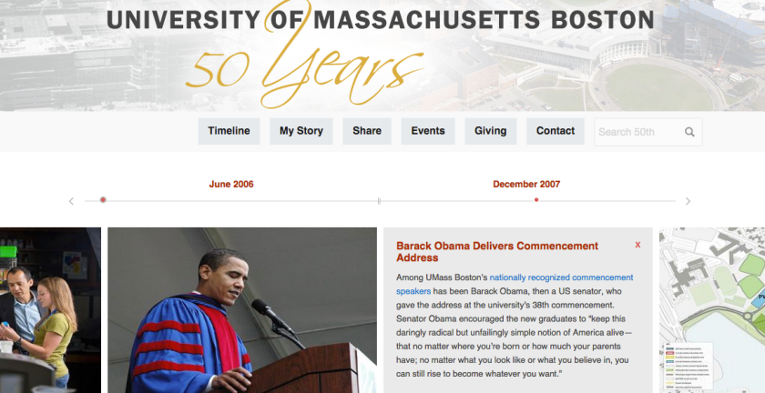 UMass Boston at 50
